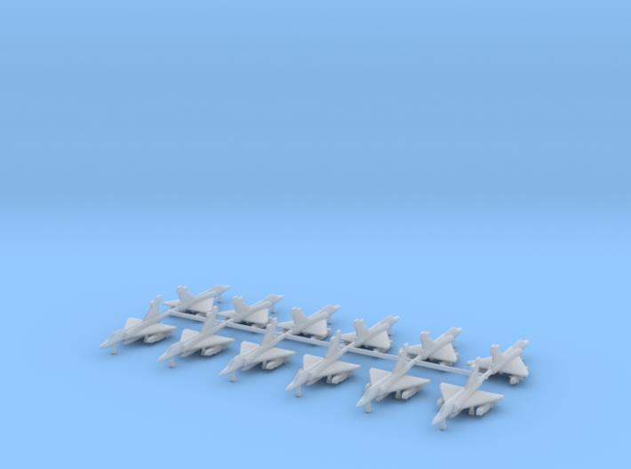 1/700 Mirage 2000-5 (Single Seat) (x12) 3d printed