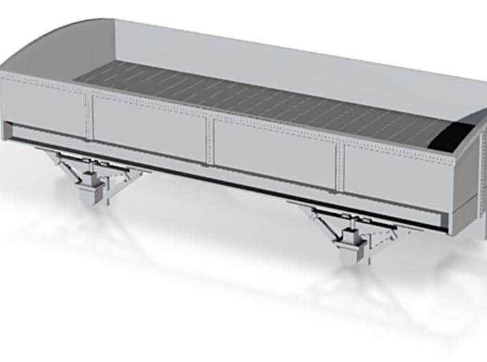 Wagon Etat Belge 1 NMBS / SNCB 3d printed