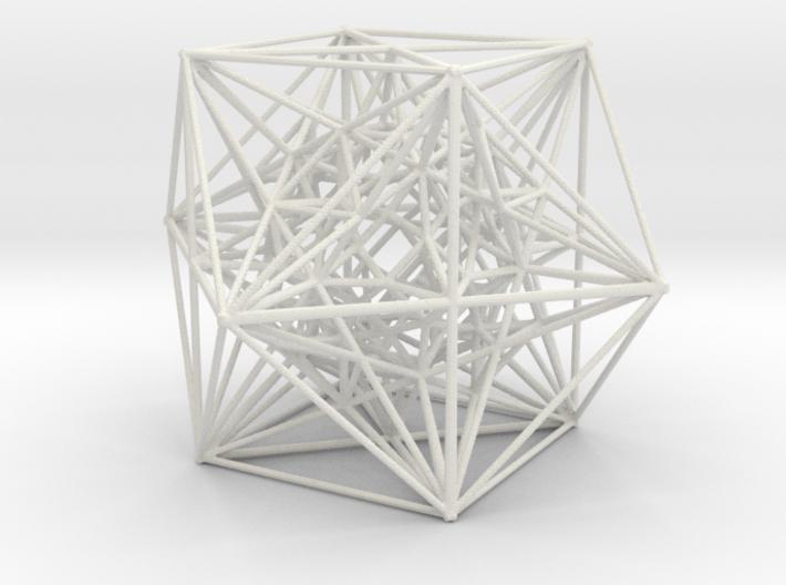 Inversion of Cuboctahedra 3d printed