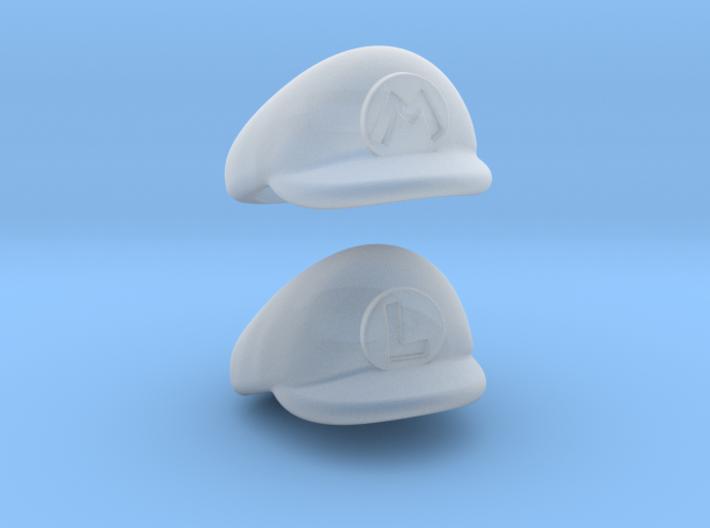 Plumber Cap Pack 3d printed