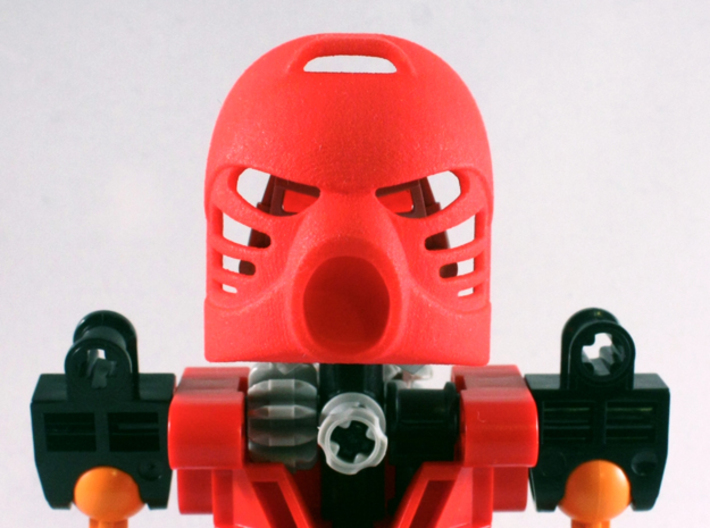 Hau 3d printed Red Strong & Flexible Polished