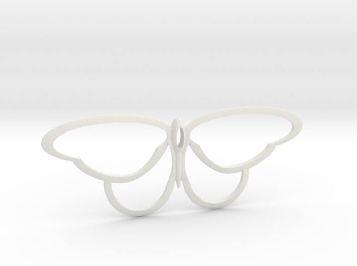 flutterfly 3d printed