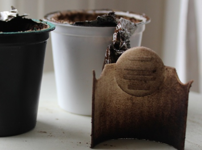 K-Cup Compost Tool 3d printed