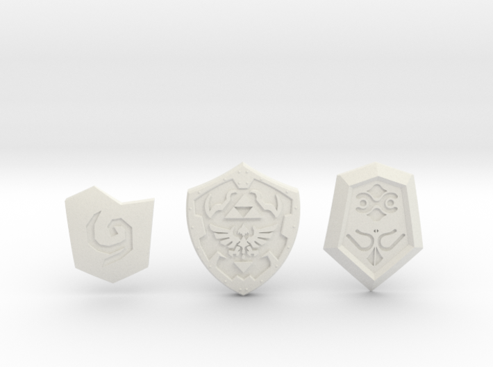 Time Shield Pack 3d printed