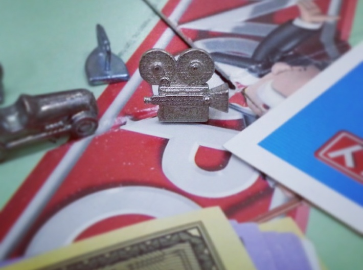 Vintage Camera - Monopoly Game Piece (Rags to Rich 3d printed
