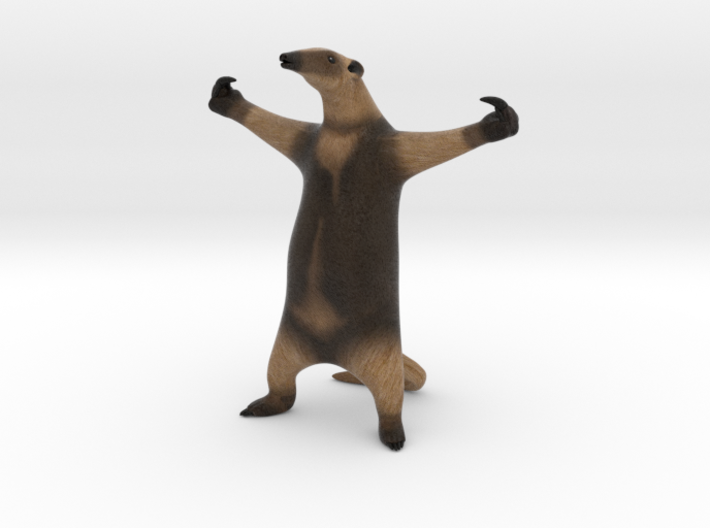 """Anteater 10"""" Tall 3d printed"""