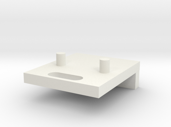 Microusb Holder 3d printed