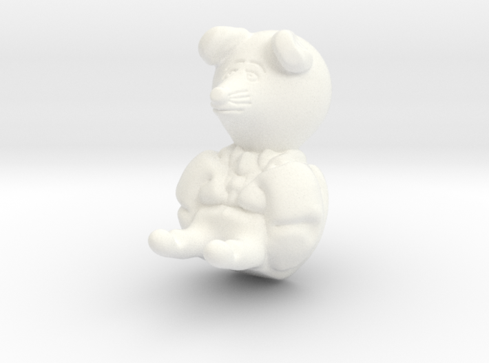 Ratty from wind in the willows 3d printed