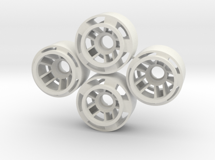 Mini-z F1 Wheelset BRM -1rears 3d printed