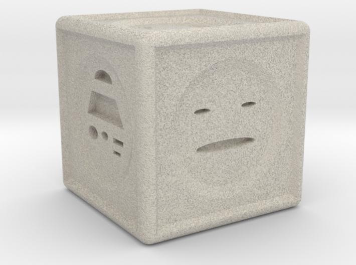 Mood Dice 3d printed