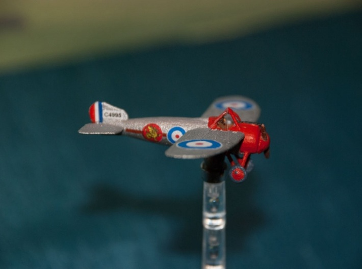 1/144 Bristol M1C Bullet 3d printed Photo by Rob Kyte