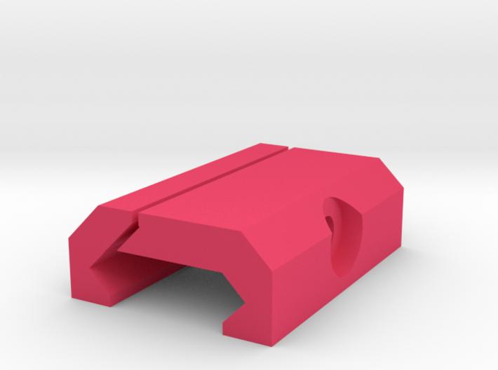 DIY Picatinny Mount (40 mm) 3d printed