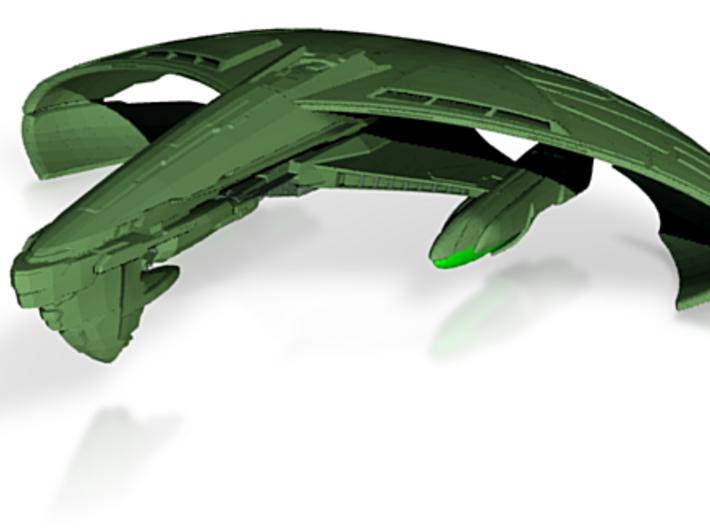 Terchan Class B Battleship 3d printed