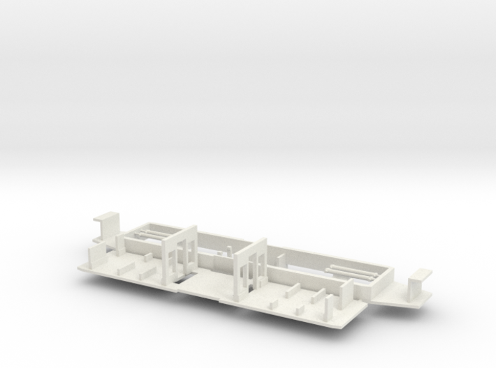 RET471-570 chassis (Fahrgestell) 3d printed