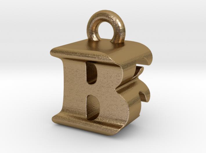 3D Monogram Pendant - BFF1 3d printed
