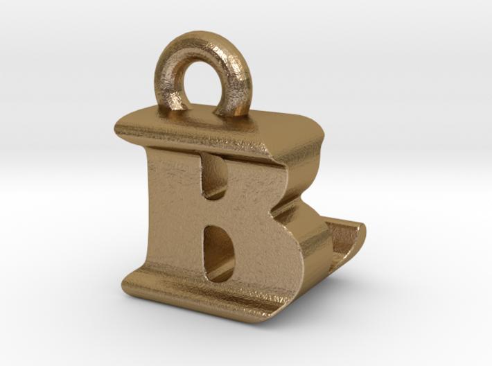 3D Monogram Pendant - BLF1 3d printed