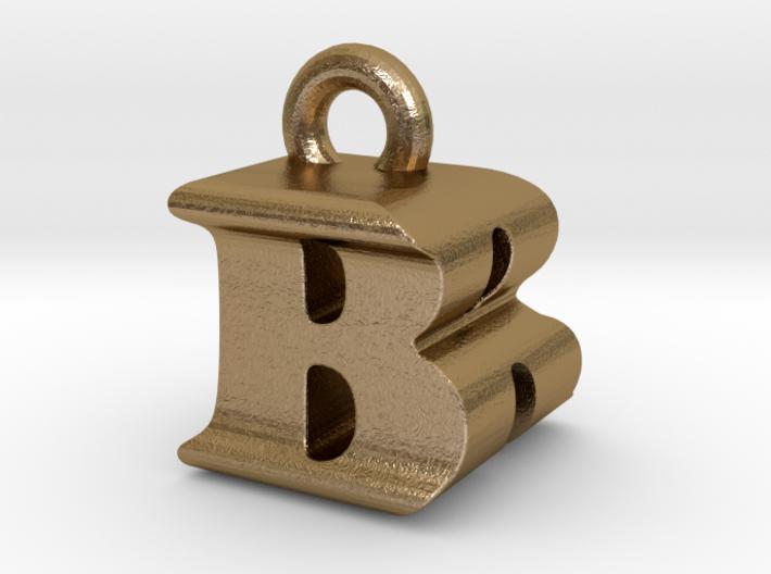 3D Monogram Pendant - BRF1 3d printed