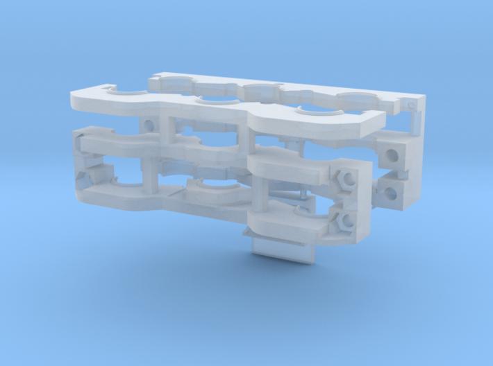 Doppelachsgetriebe Schmale Version 3d printed