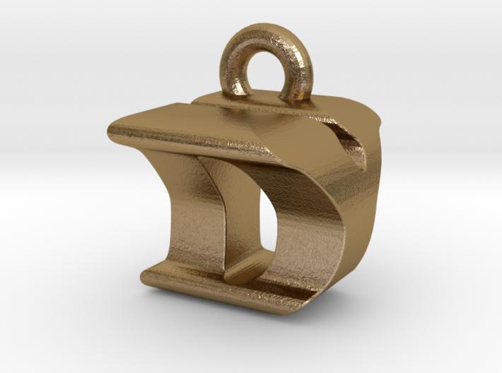 3D Monogram Pendant - DYF1 3d printed