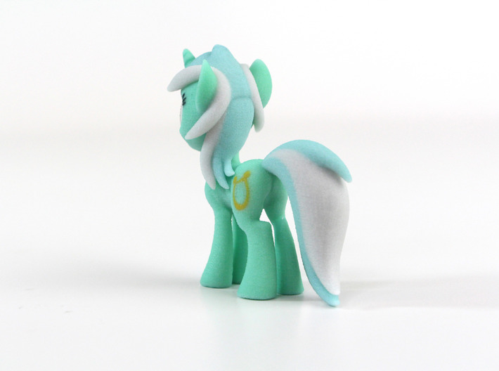 My Little Pony - Lyra (≈60mm tall) 3d printed