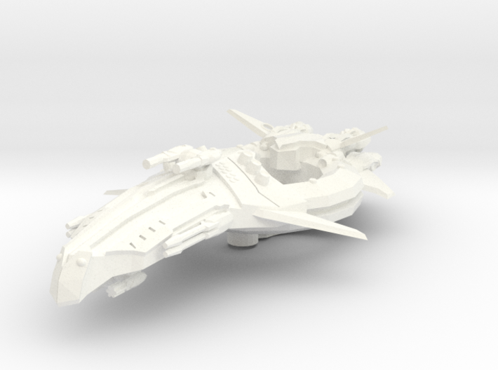 Zen Dazi Tak'agi Class Battleship 3d printed