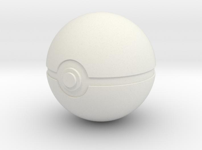 Original Poké Ball 8cm in diameter. 3d printed