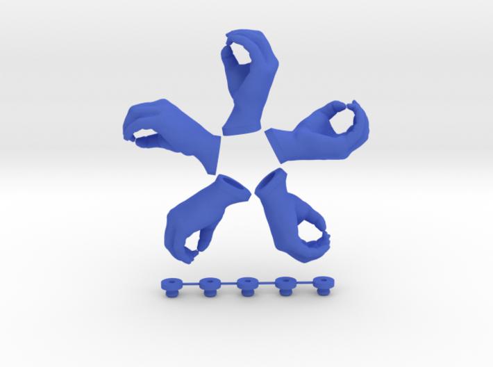 Let Me Grab You! • Hook / Fridge Magnet [5pcs] 3d printed