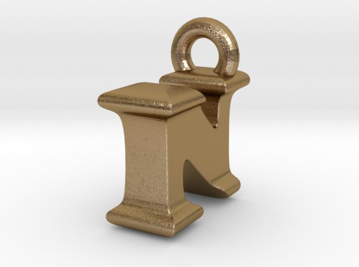 3D Monogram Pendant - INF1 3d printed