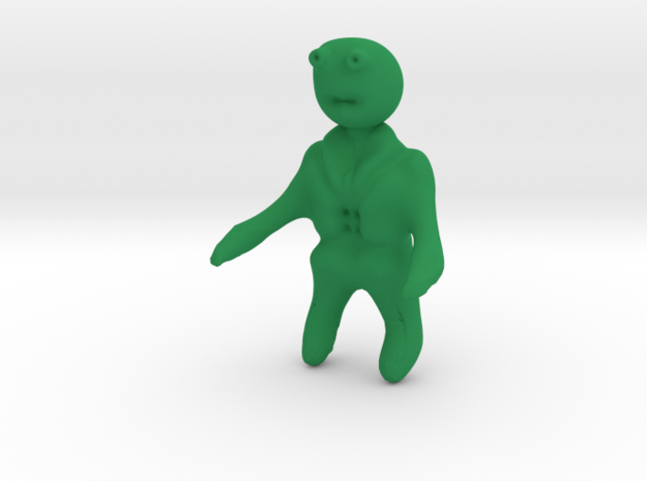 Mr Toad from wind in the willows 3d printed