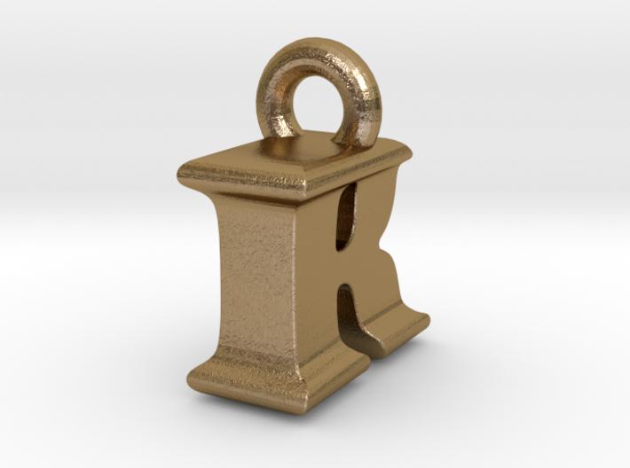 3D Monogram Pendant - IRF1 3d printed