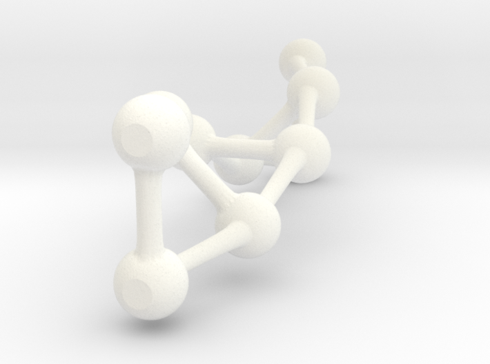Double Helix Structure 3d printed