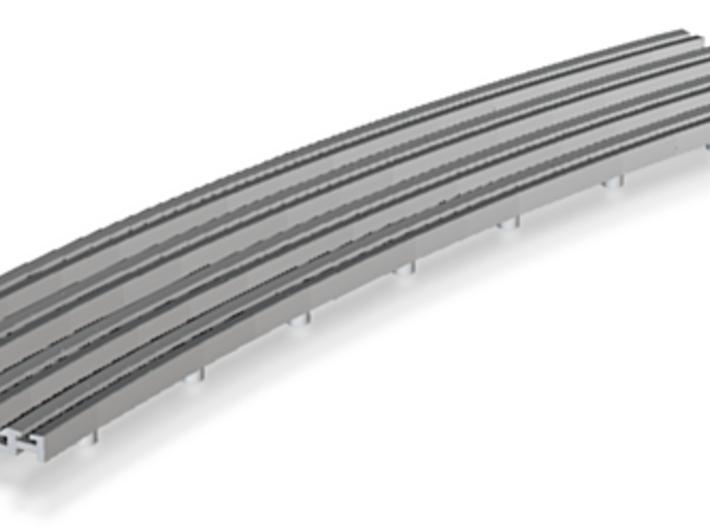 R-165-outer-curve-2r-bridge-rails-long-100-1a-x4 3d printed