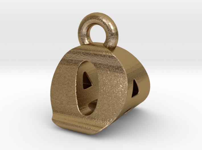 3D Monogram Pendant - OAF1 3d printed