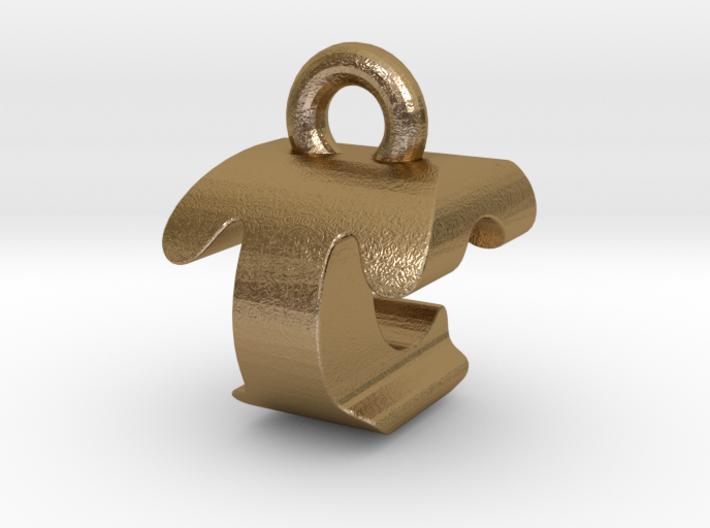 3D Monogram - TCF1 3d printed