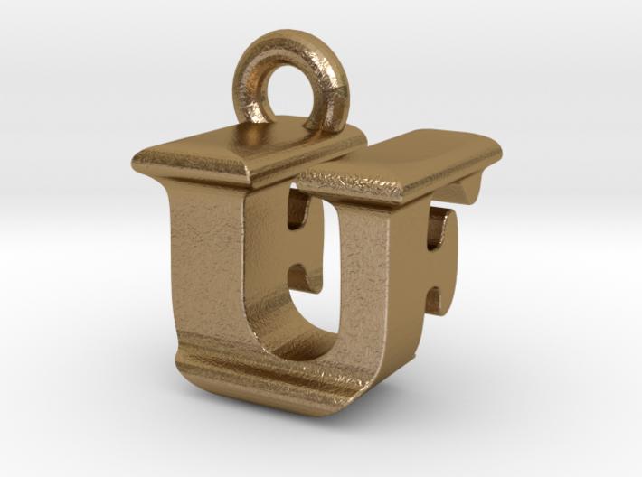 3D Monogram - UFF1 3d printed