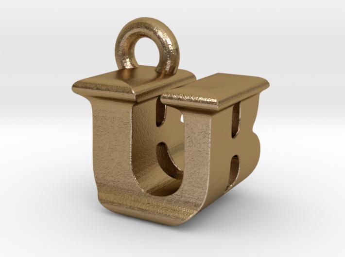 3D Monogram - UBF1 3d printed