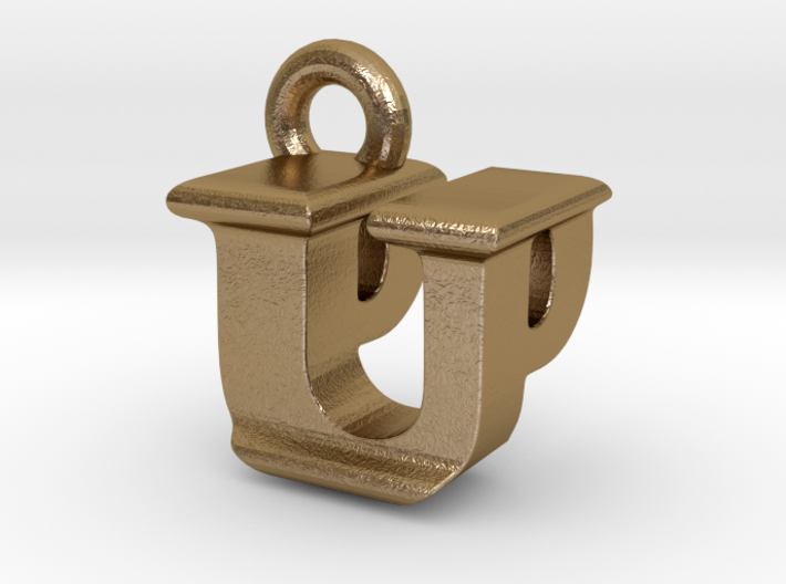 3D Monogram - UPF1 3d printed
