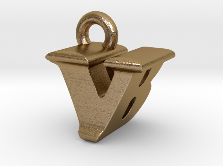 3D Monogram - VBF1 3d printed
