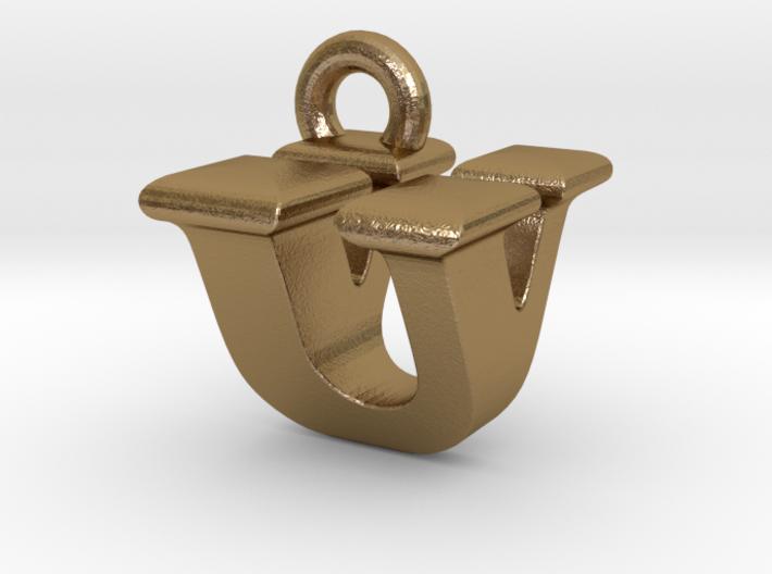 3D Monogram - UVF1 3d printed