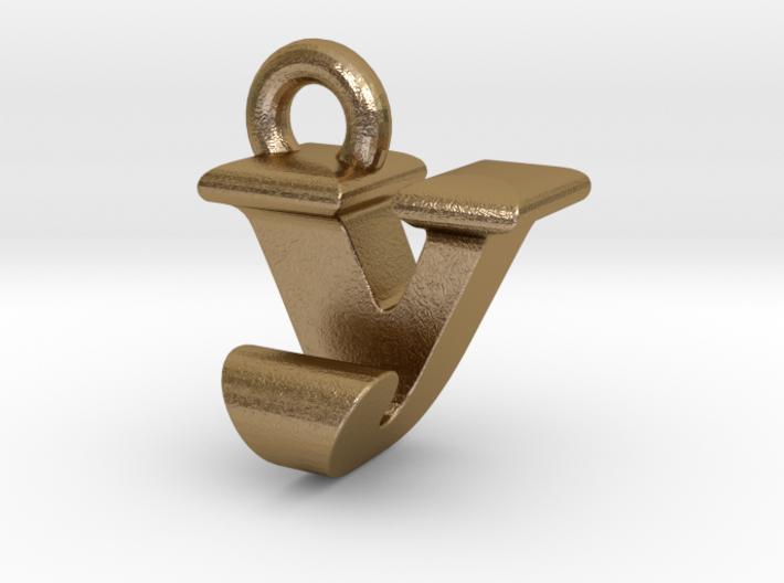 3D Monogram - VJF1 3d printed