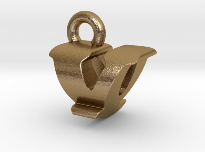 3D Monogram - VQF1 3d printed