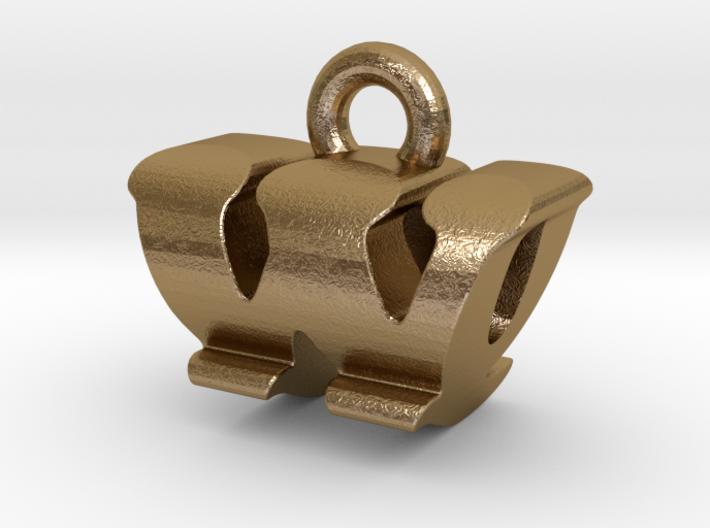 3D Monogram - WQF1 3d printed