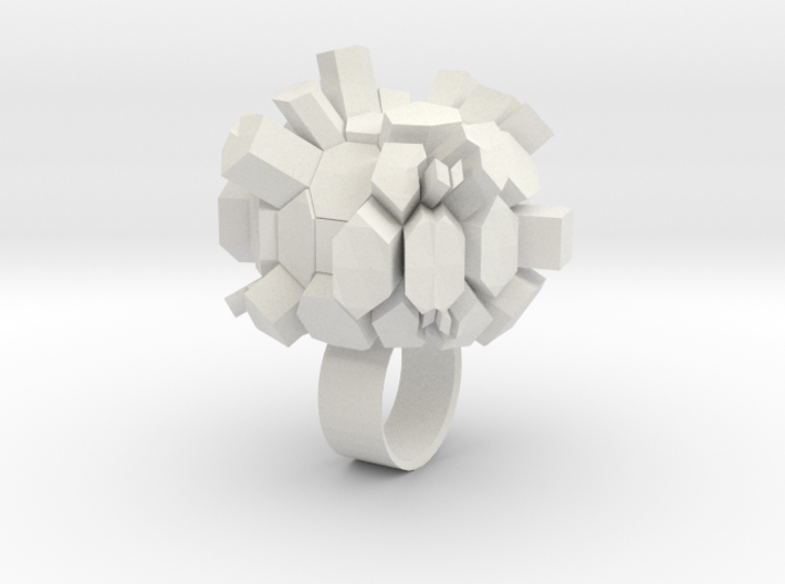 Rocky Ring 3d printed