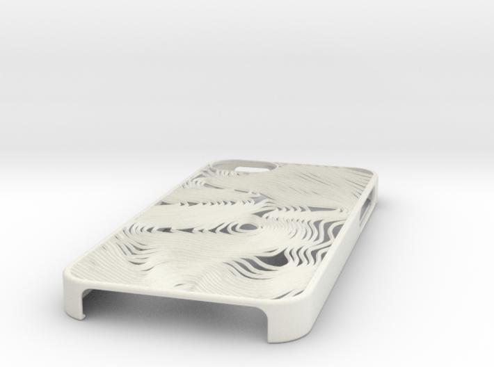 Åreskutan Contours iPhone 5 Case 3d printed