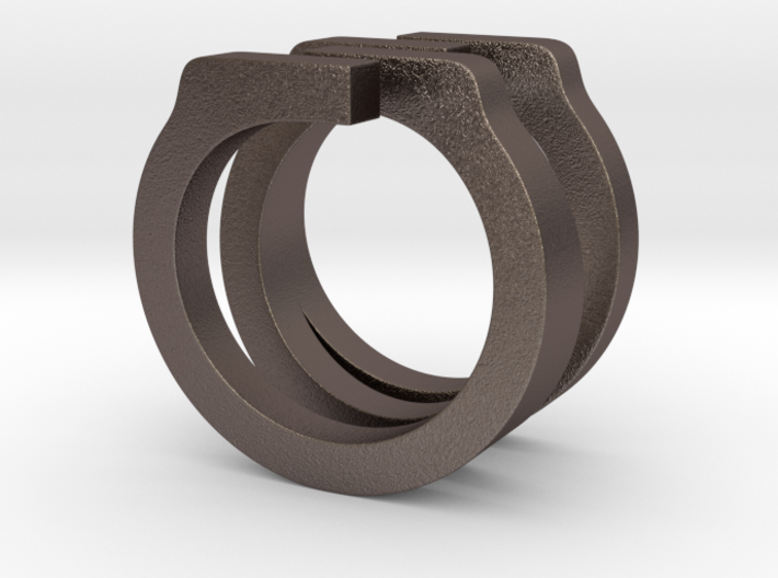 Helixois Ring 60 3d printed