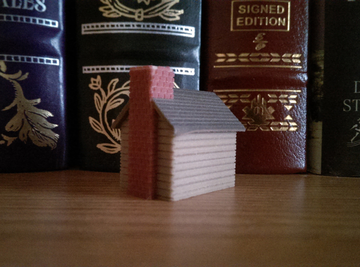 Tiny Cabin 3d printed
