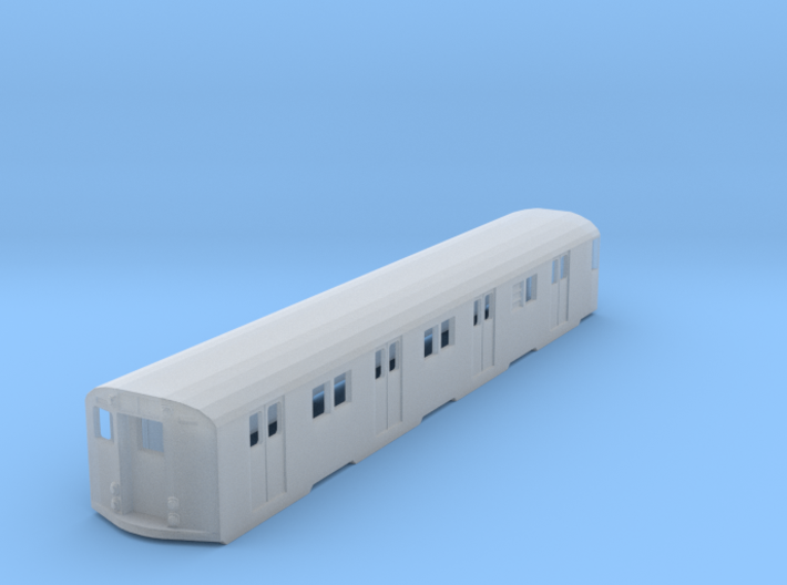 N scale R30 new york city subway car 3d printed