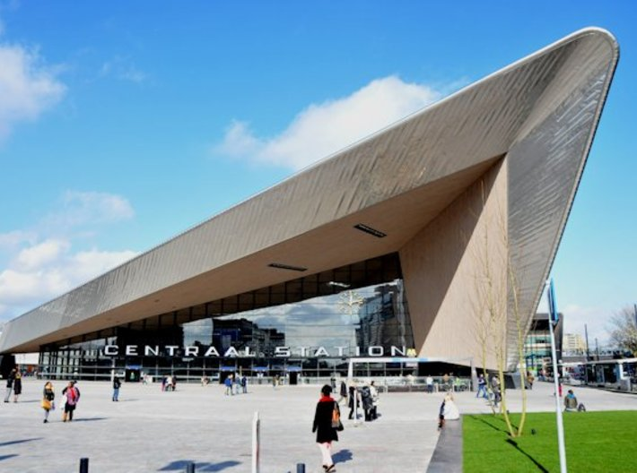 Rotterdam Centraal Station (n-scale) 3d printed