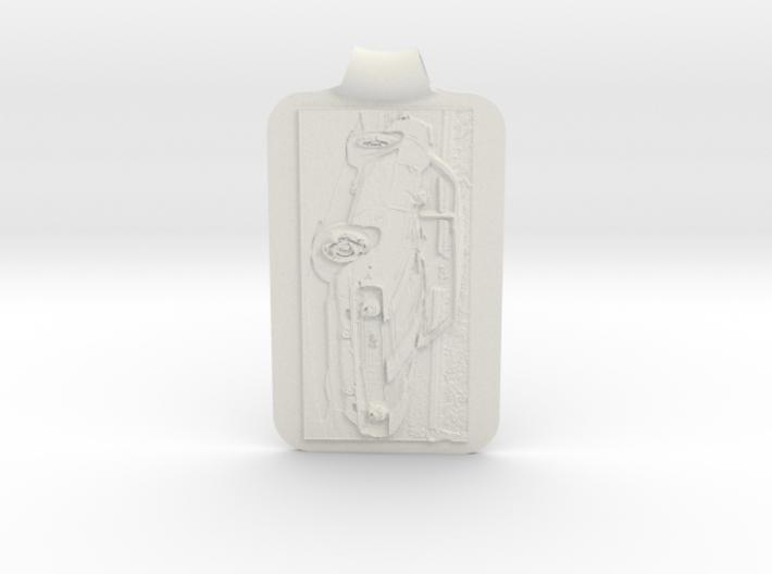 Camaro 67 Z28 Background Key Fob 3d printed