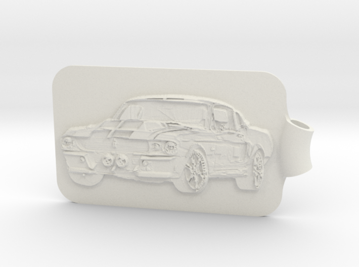 Mustang - Eleanor Key Fob 3d printed